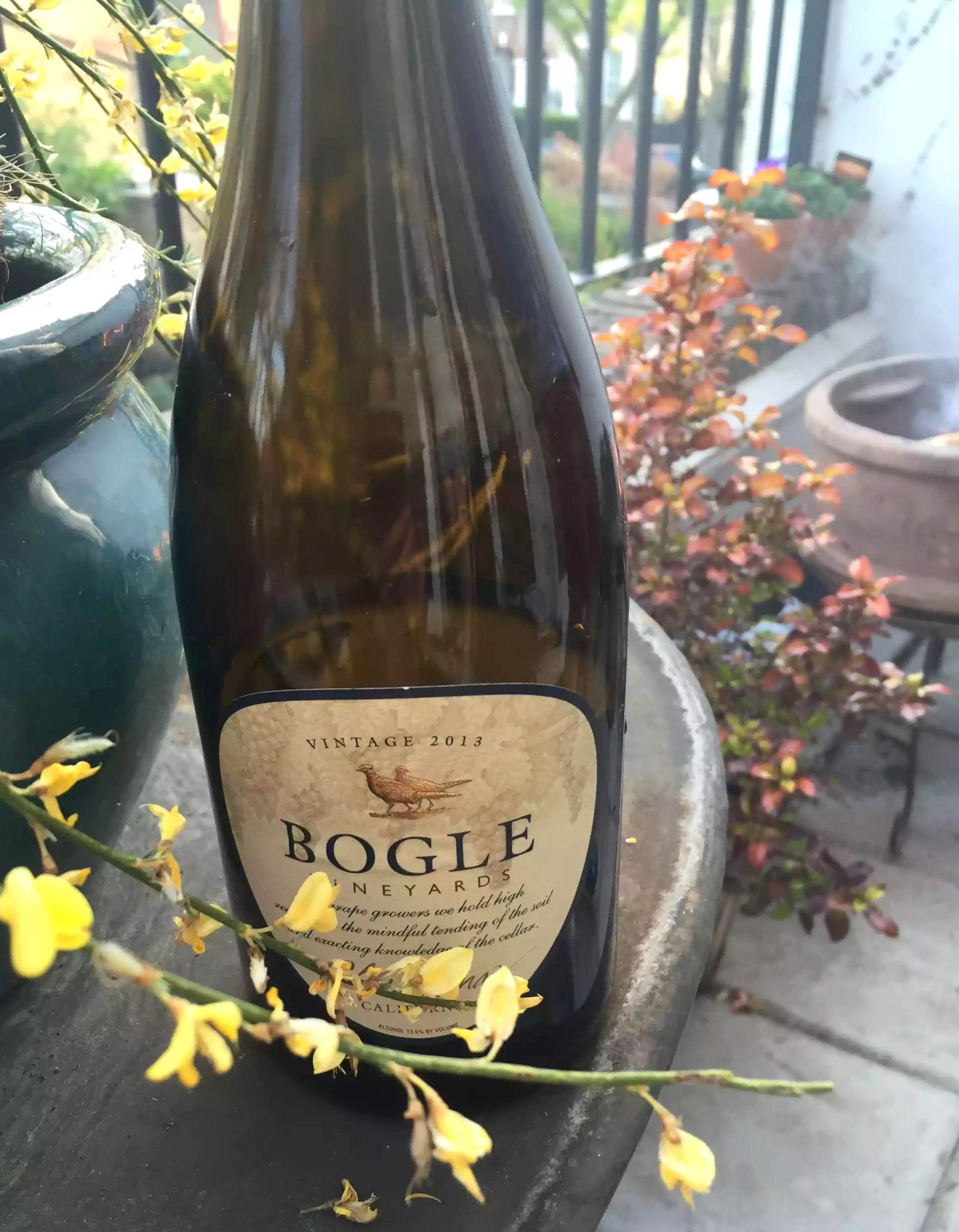 Bogle Chardonnay California White Wine BBQ London