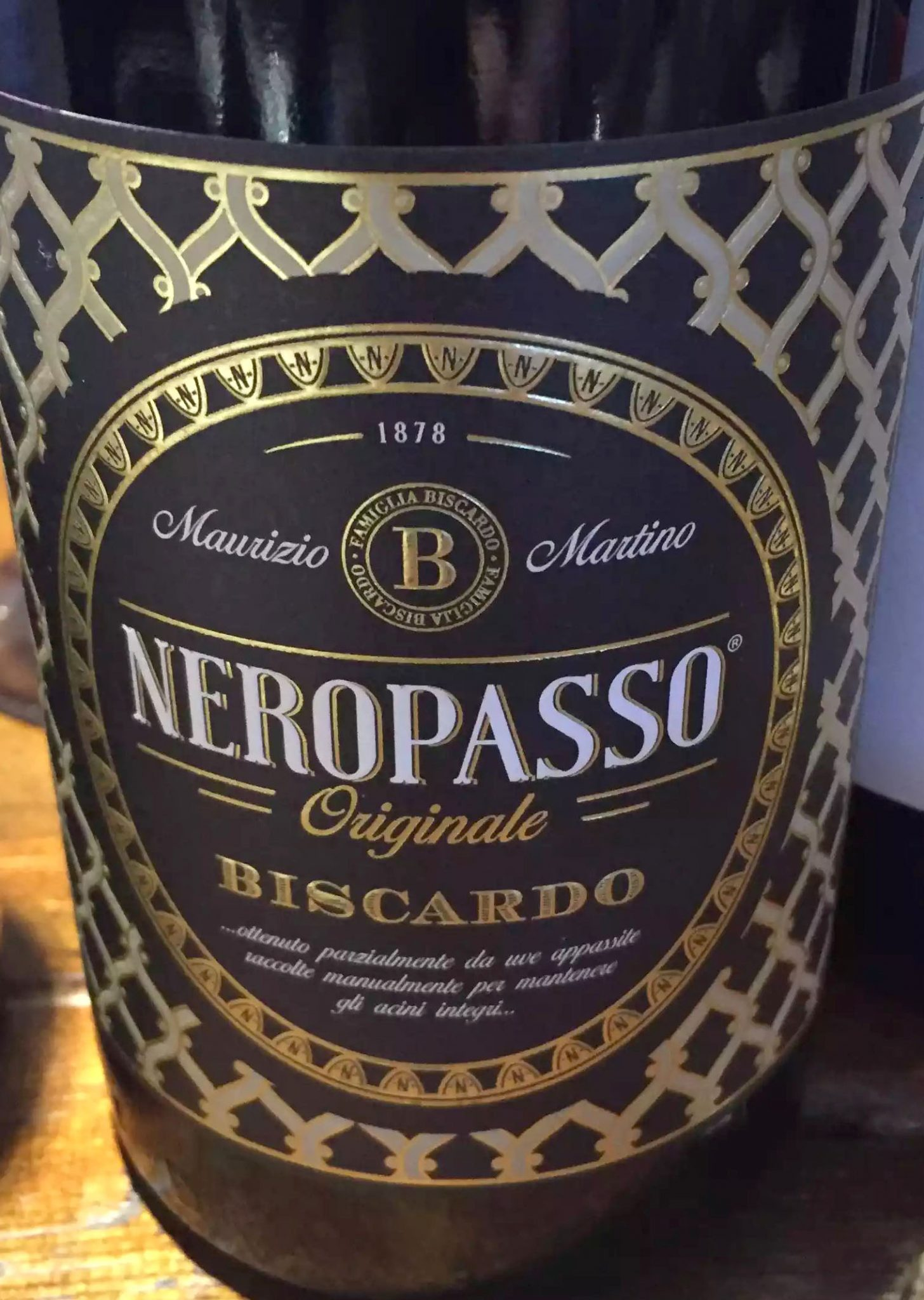 Great Northern Pub St Albans Wine Tasting Dinner Neropasso Biscardo Amarone