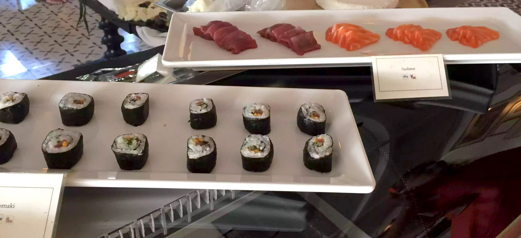 Bovino Love Brunch Quinta do Lago Algarve Portugal Sushi Sashimi