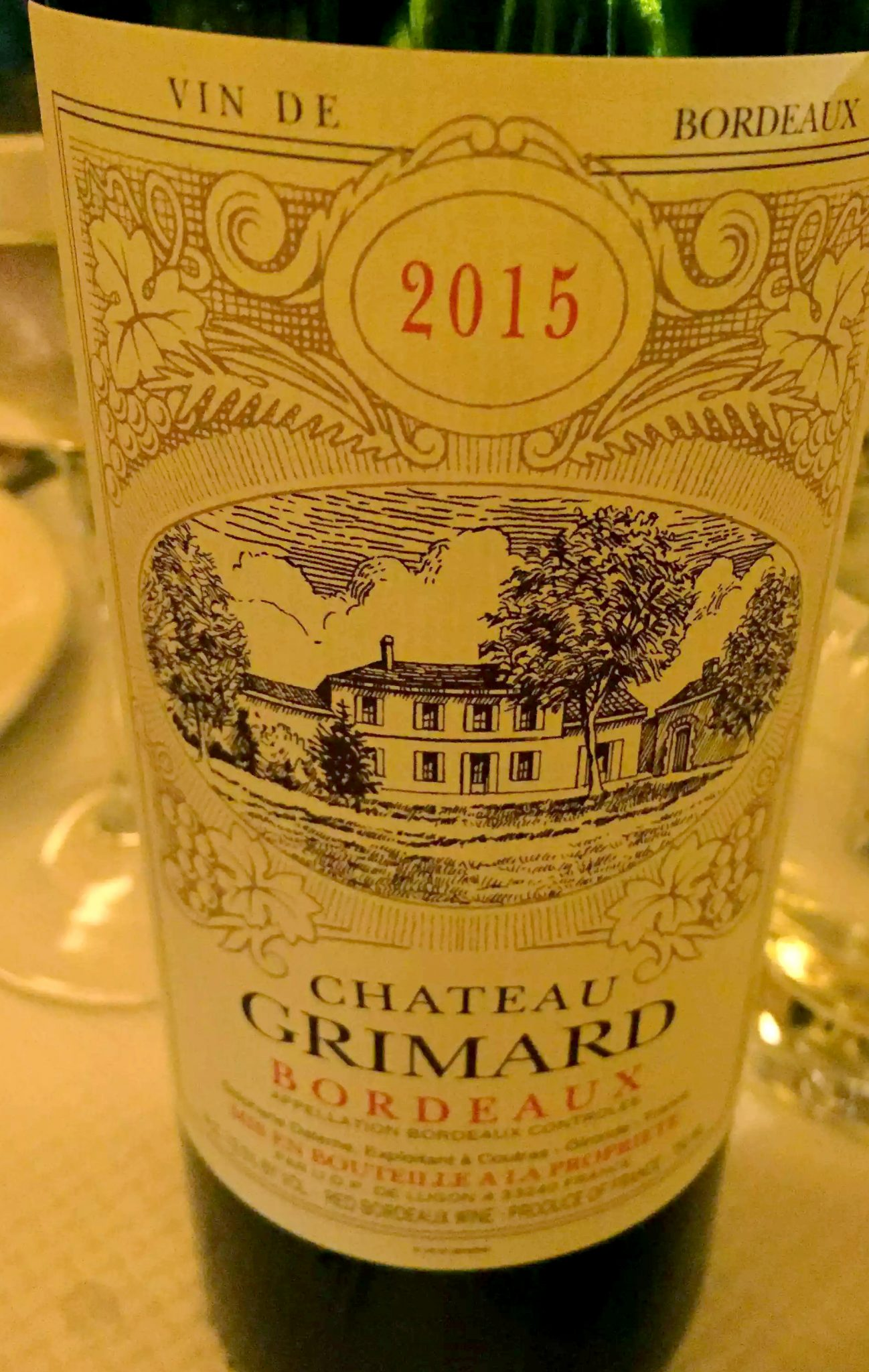 Balthazar Restaurant Covent Garden, London Chateau Grimard Bordeaux