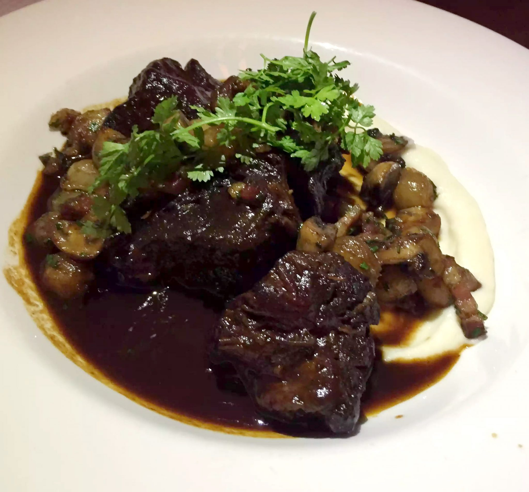 Balthazar Restaurant Covent Garden, London Ox cHEEK bourguignon