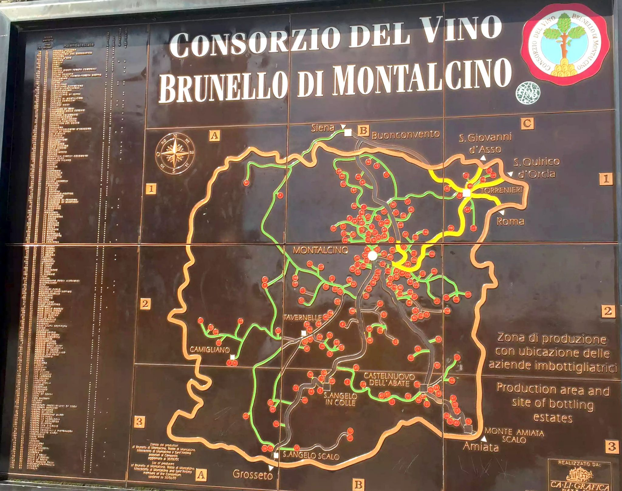Brunello Tasting in Montalcino, Tuscany, Italy by Emma Eats & Explores - Wine