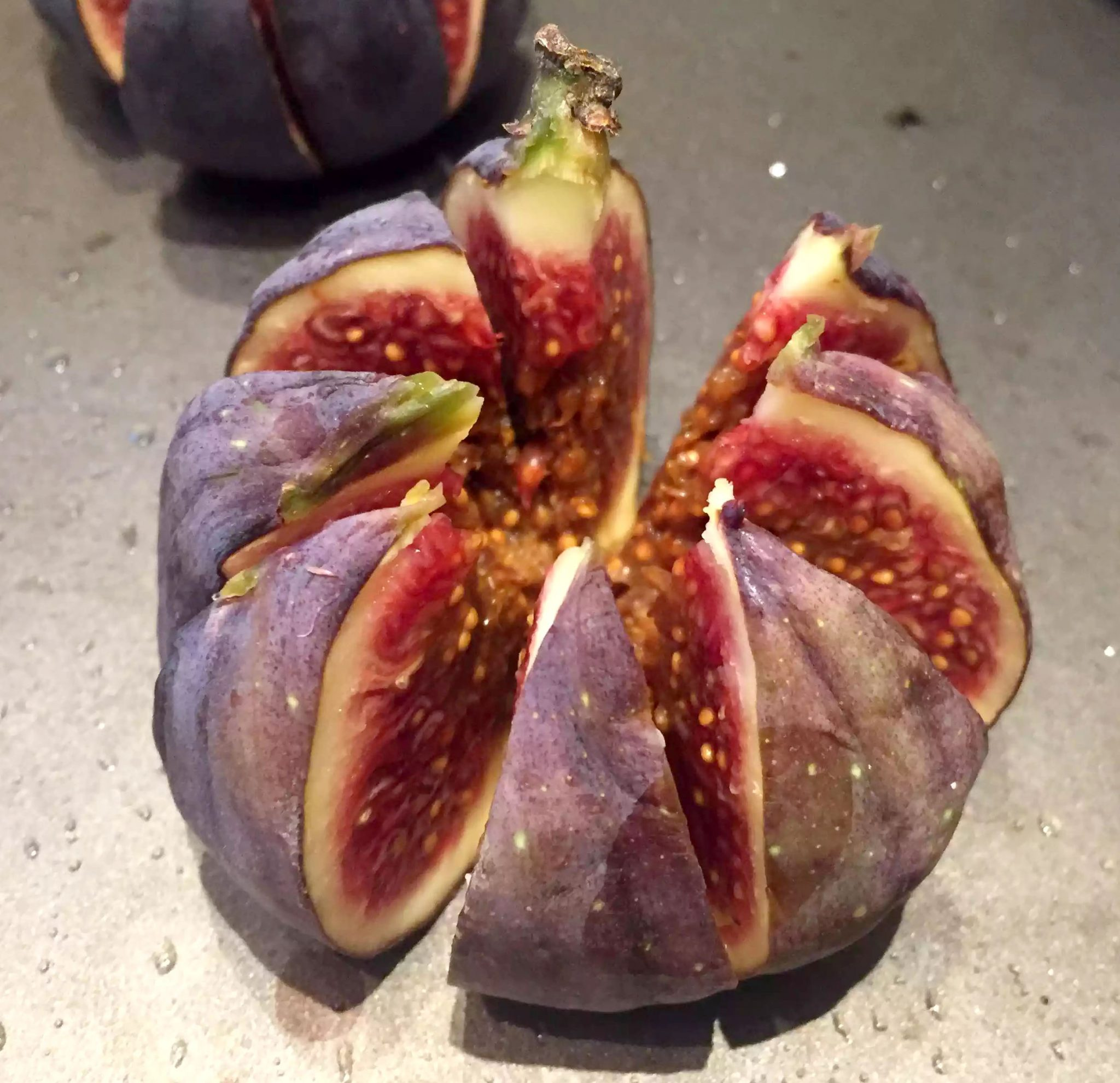 Baked Figs with Goats Cheese & Crispy Prosciutto & pecans - Appetiser, SCD, Paleo, Gluten-Free, Grain-Free, Refined Sugar-Free, Clean Eating