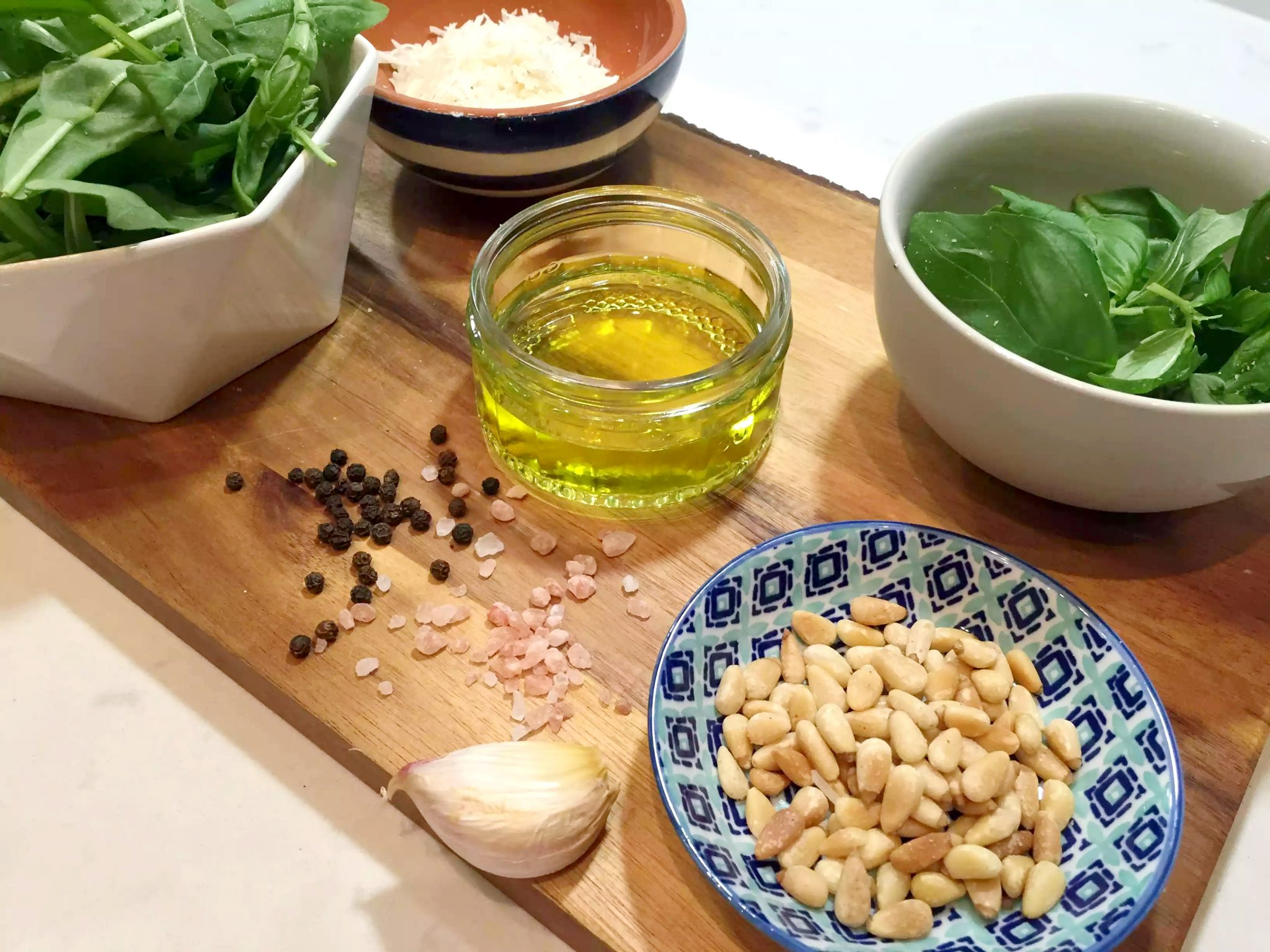 Fresh Rocket Pesto (Arugula) by Emma Eats & Explores - SCD, Paleo, Grain-Free, gluten-Free, Sugar-Free, Vegetarian