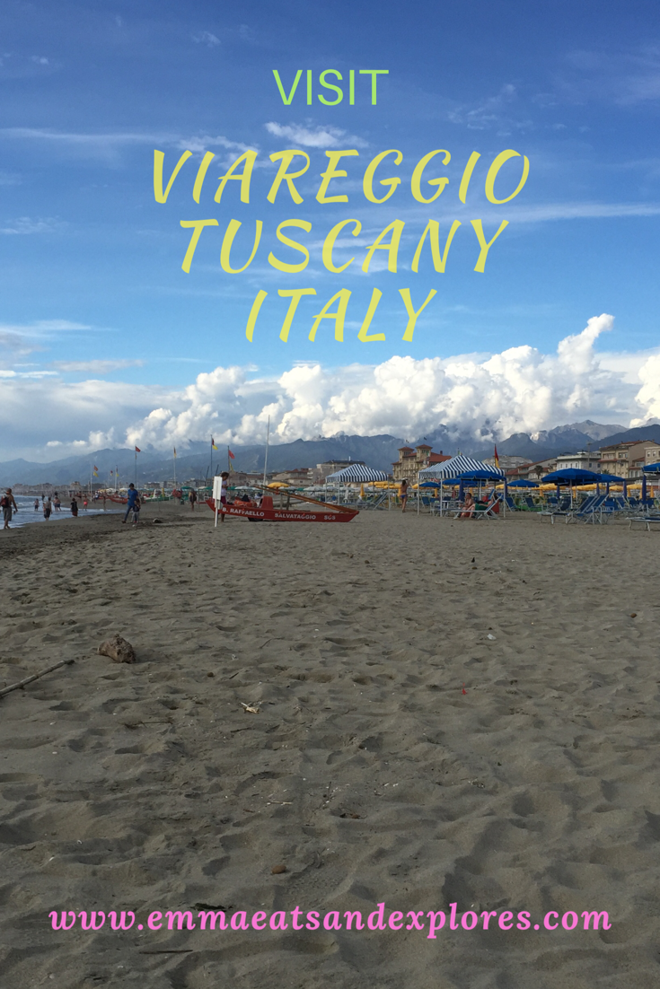 A Day in Viareggio, Tuscany, Italy by Emma Eats & Exlplores