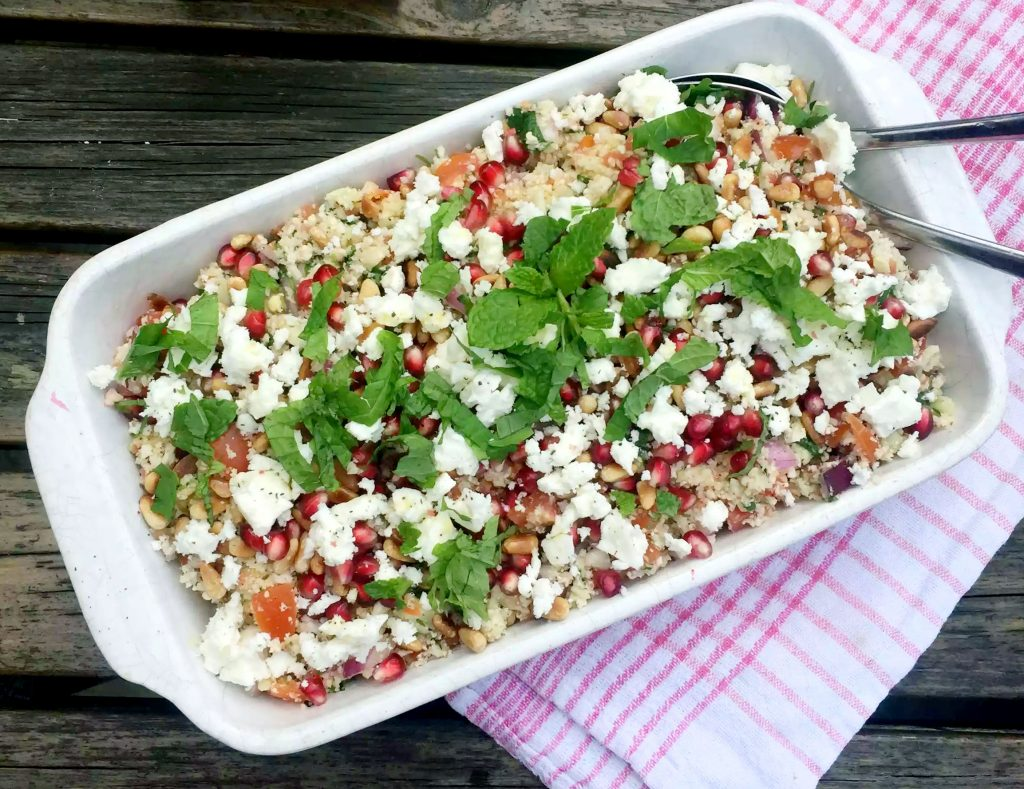 Cauliflower Rice Tabbouleh by Emma Eats & Explores - Grainfree, Glutenfree, Dairyfree, Refined Sugarfree, Paleo, SCD, Raw, Whole30, Vegan Vegetarian, Low Carb