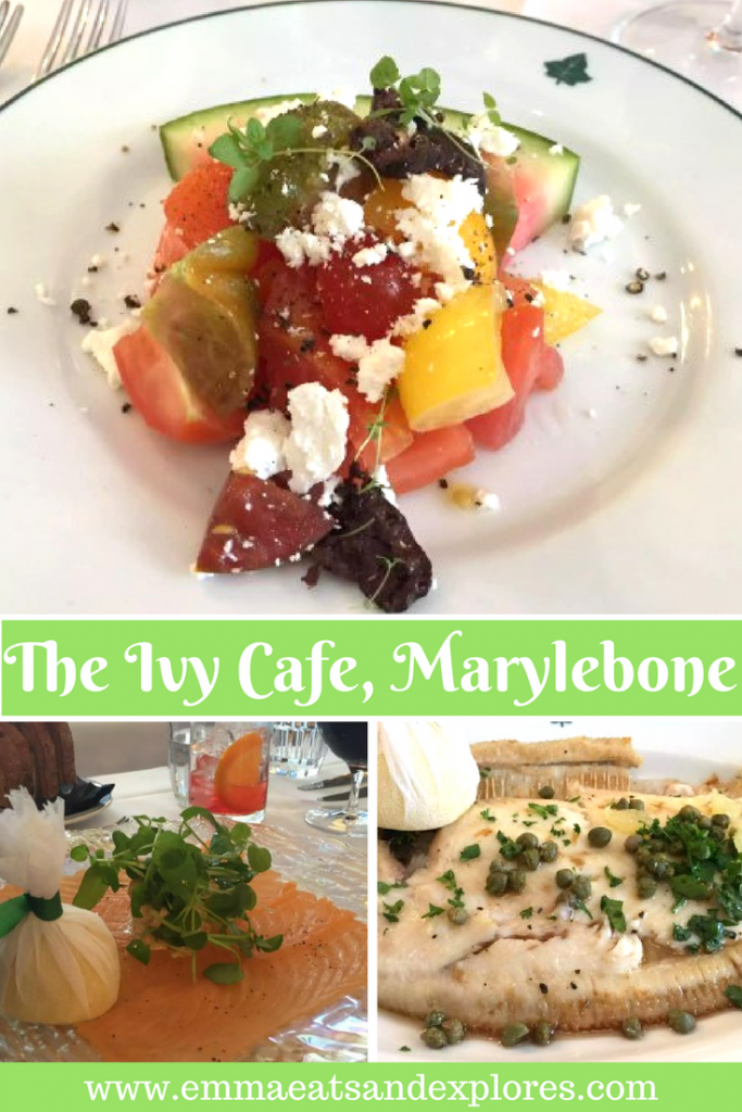 The Ivy Cafe, Marylebone, London by Emma Eats & Explores