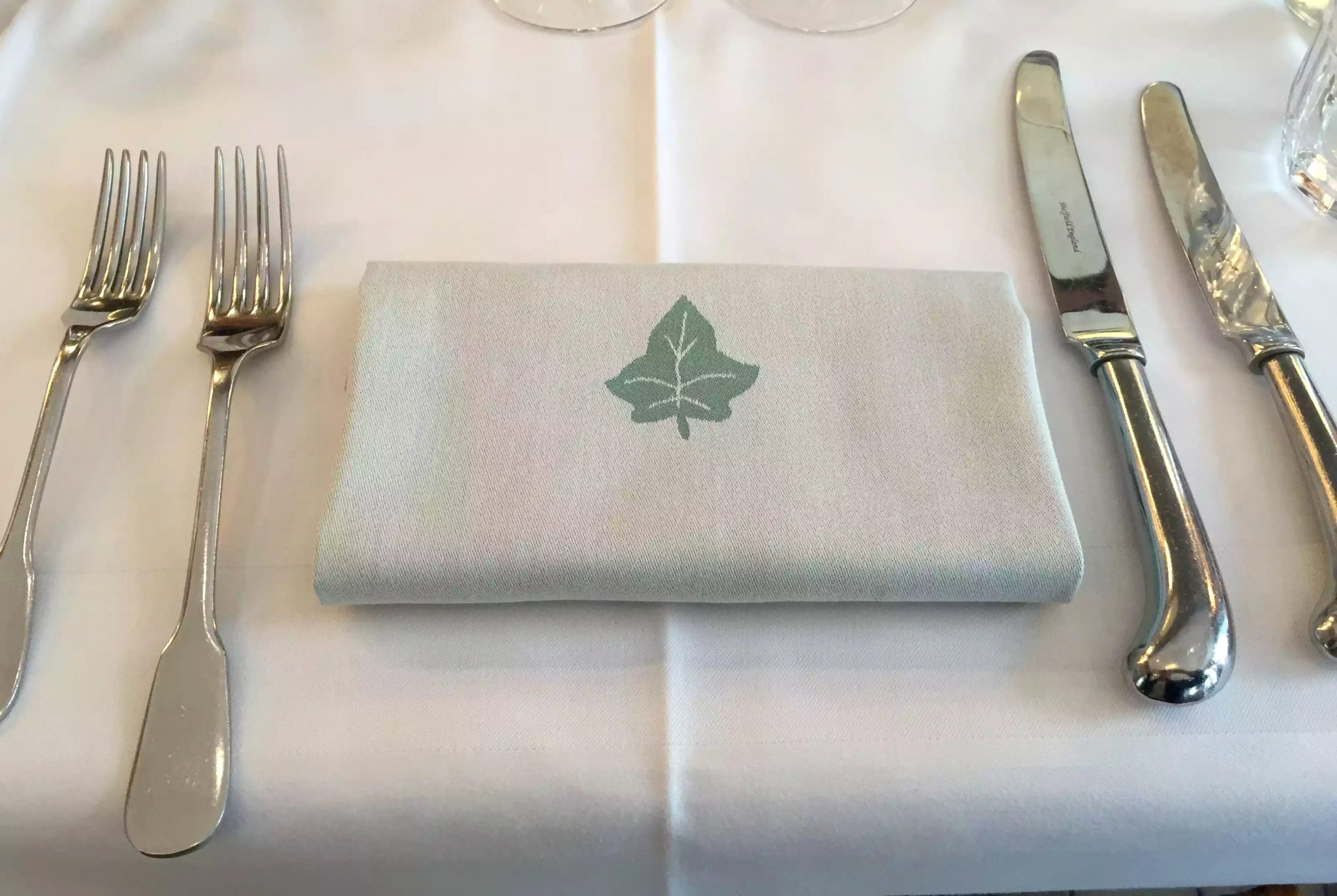 Ivy Cafe Restaurant Review Marylebone London Lunch Linen Napkins
