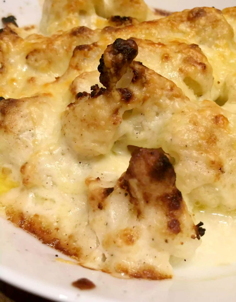 Cauliflower Cheese by Emma Eats & Explores - SCD, Paleo, Gluten-free, Grain-free, Sugar-free