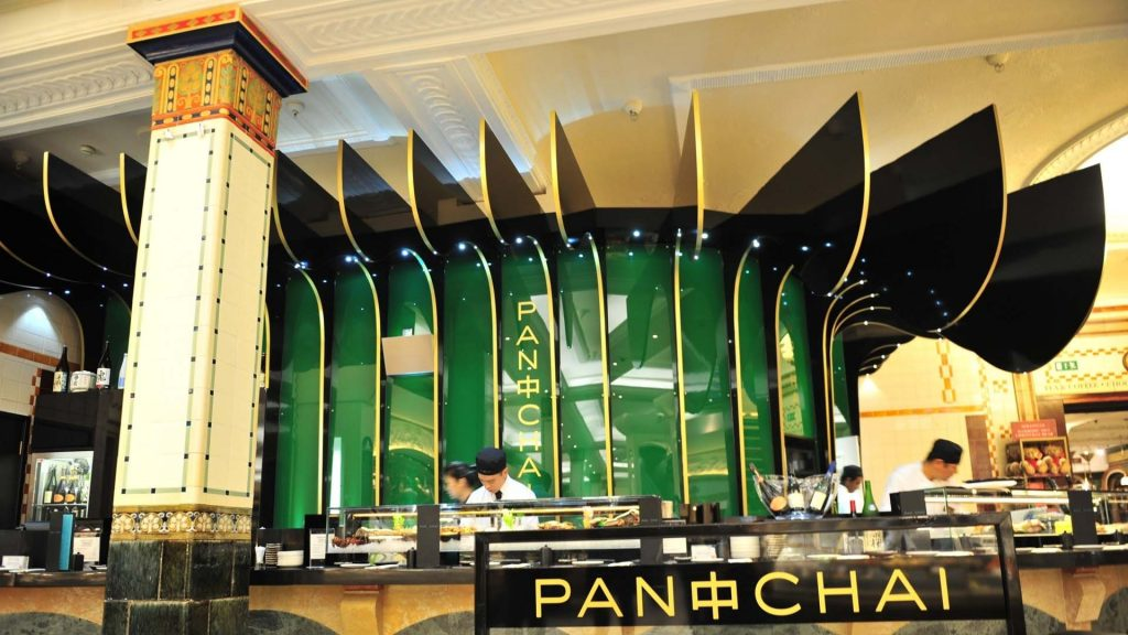 Pan Chai Restaurant - Harrods, Knightsbridge, London by Emma Eats & Explores