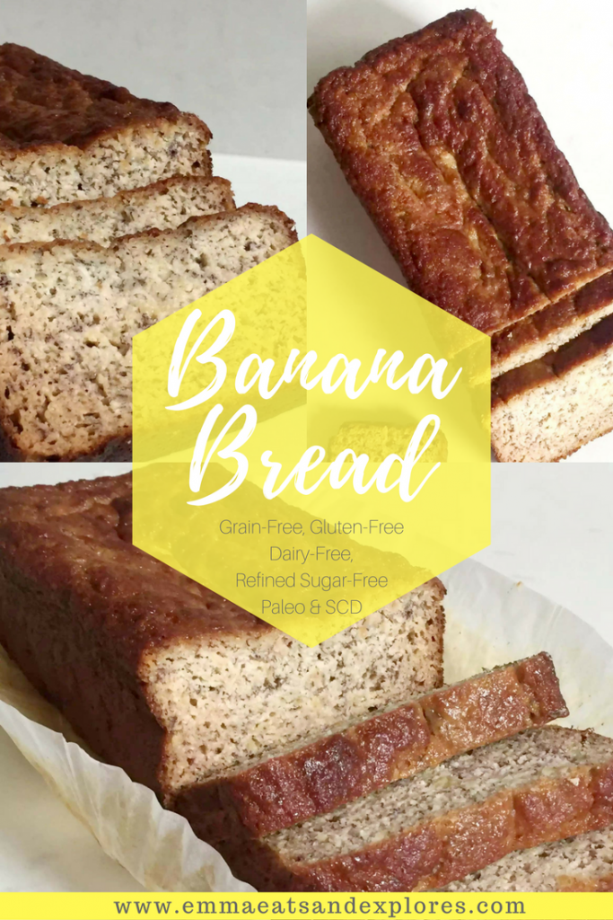 Grain Free Banana Bread by Emma Eats & Explores