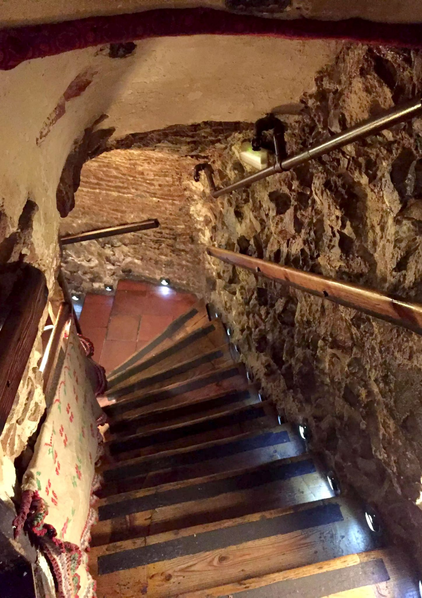 Restaurante Botin Guinness Book of records Madrid Birthday Basement Stairway Oldest
