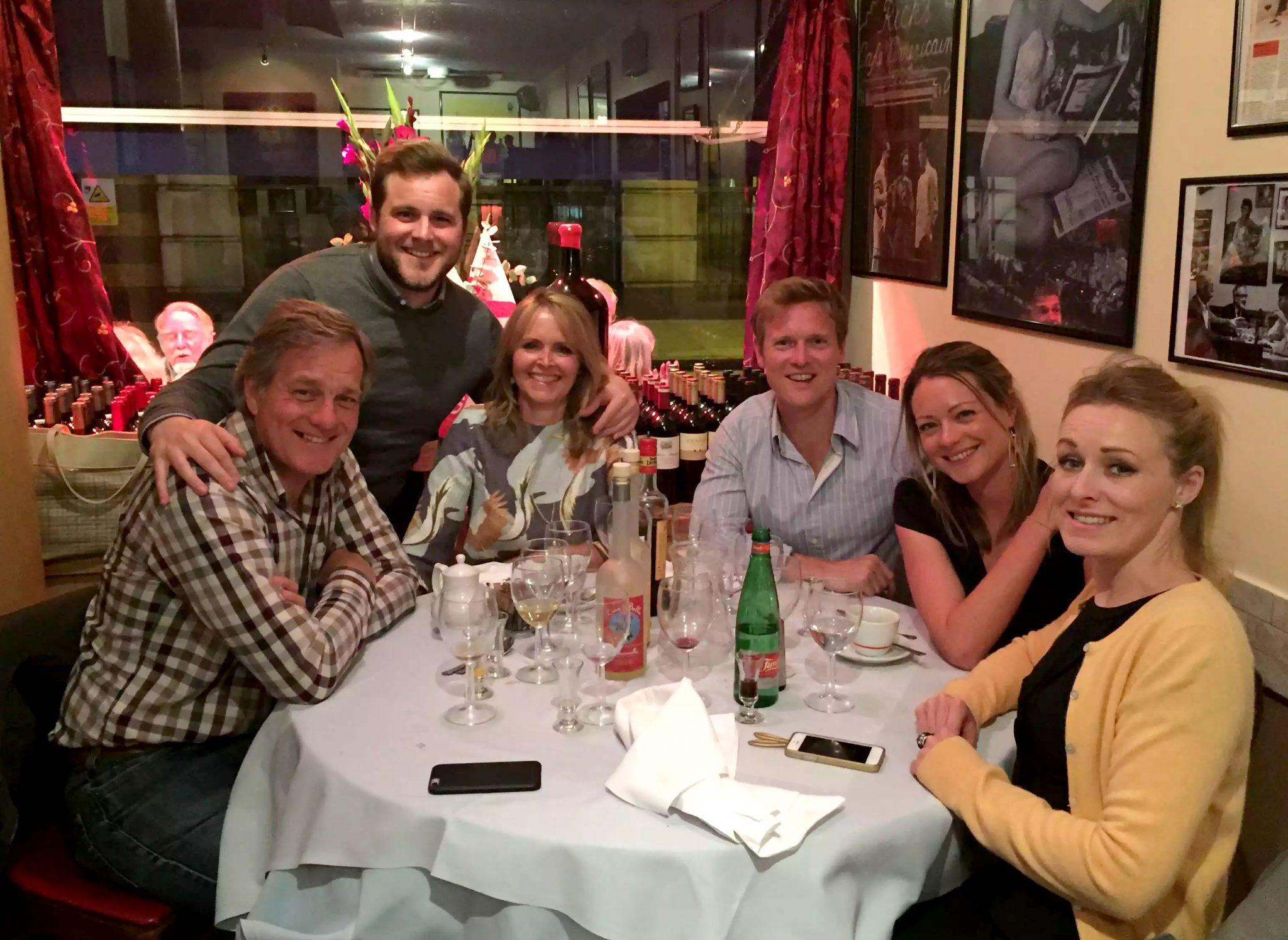 Ciao Bella Bloomsbury London Italian Restaurant Family Birthday