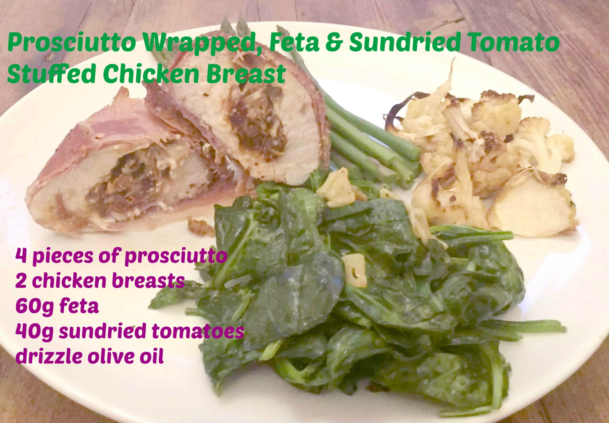 Feta Sundried Tomato Stuffed Chicken Recipe Prosciutto