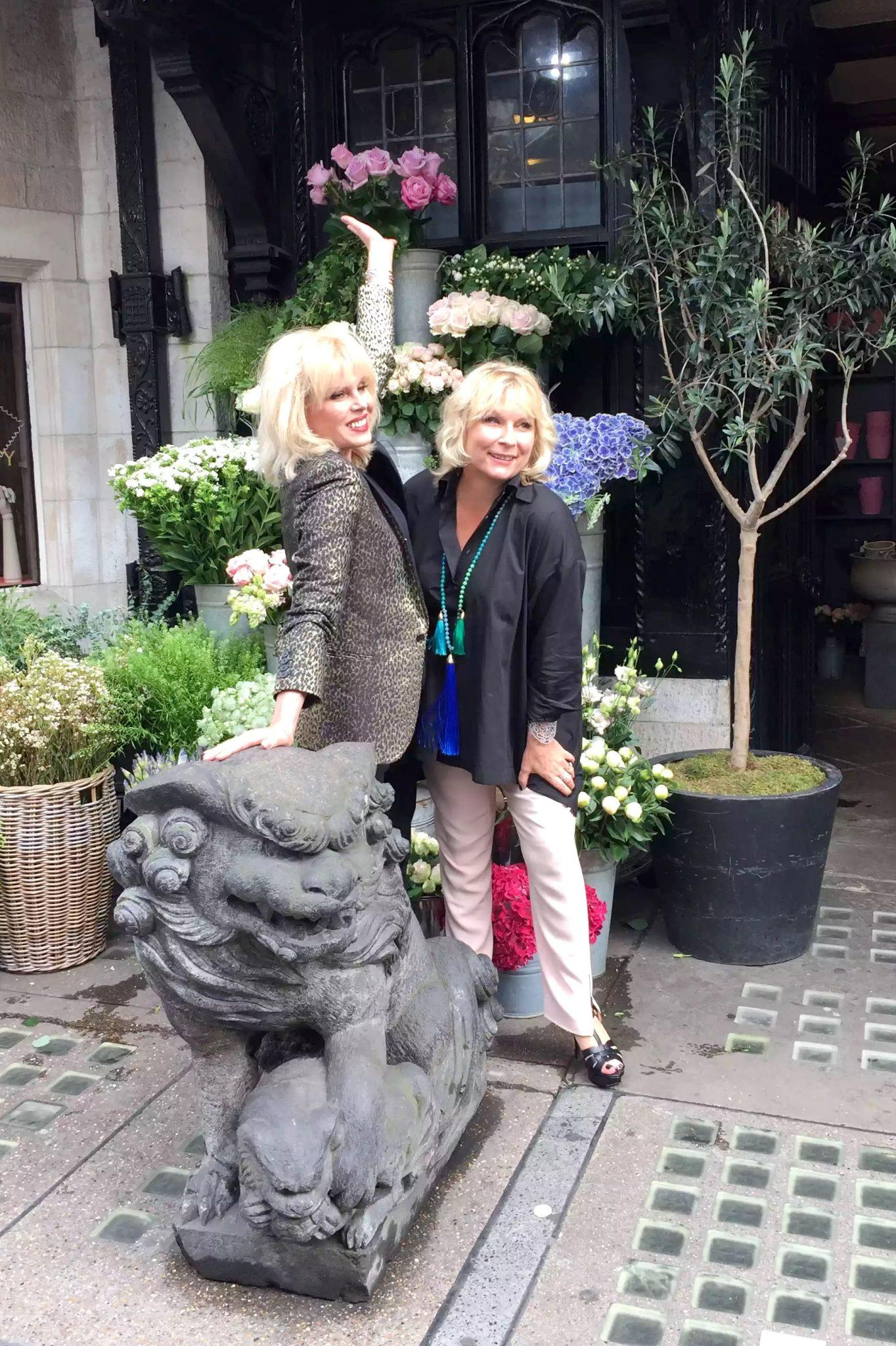 Absolutely Fabulous Liberty London Jennifer Saunders Joanna Lumley