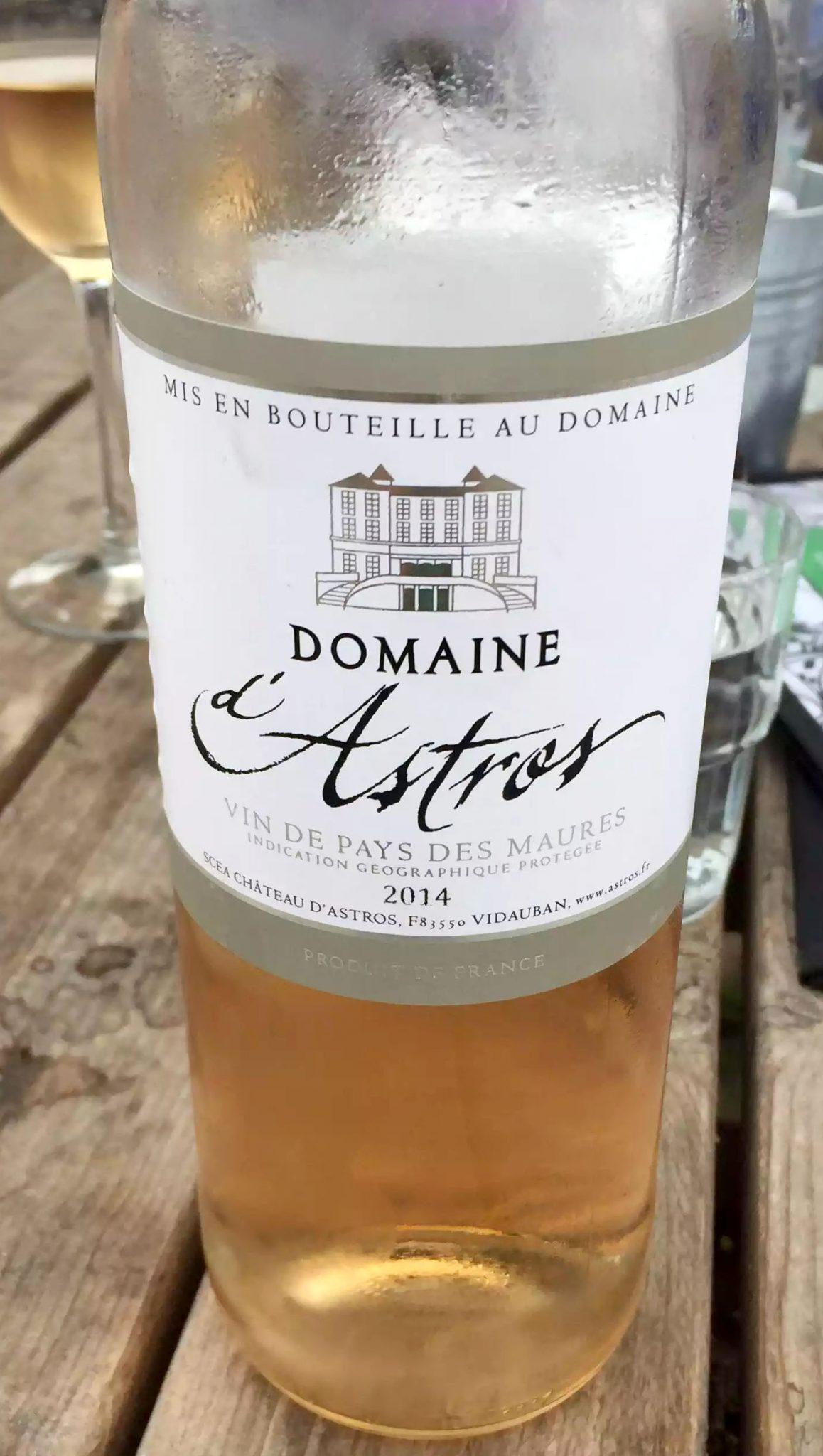 Skylark Cafe Restaurant Wandsworth Common Lunch Drinks Rose Blush Wine Domain d'Astros