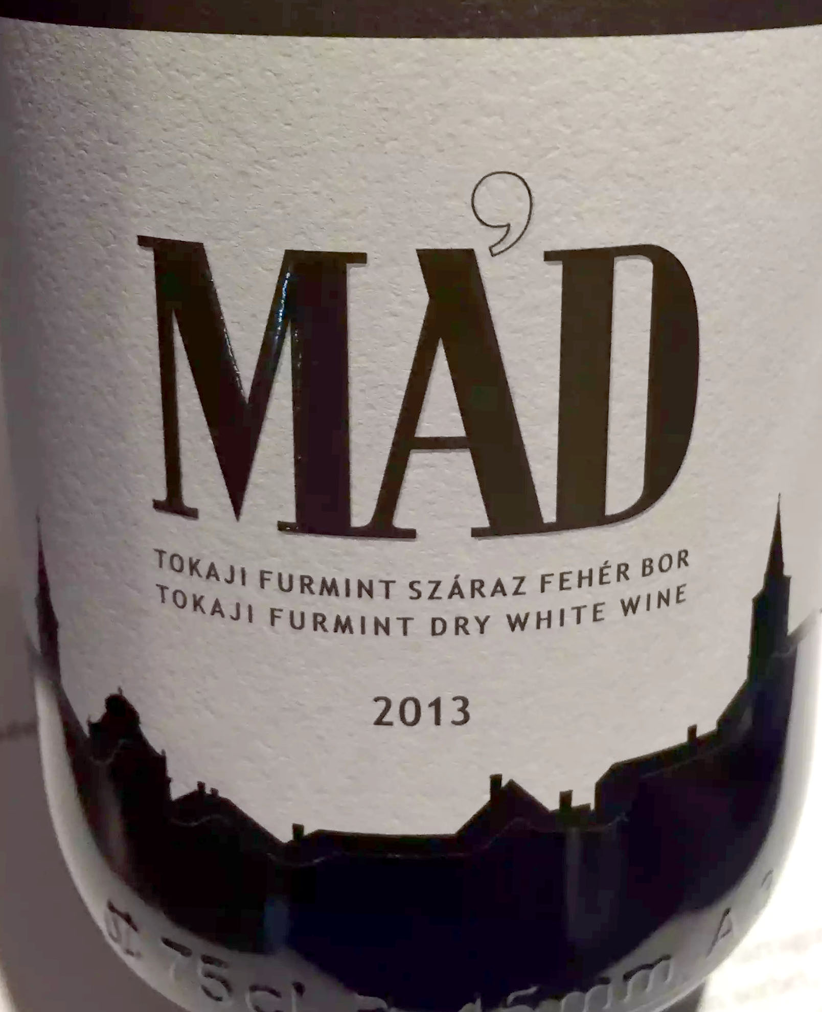 Great Northern Pub St Albans Wine Tasting Dinner Ma'd Tokaji White