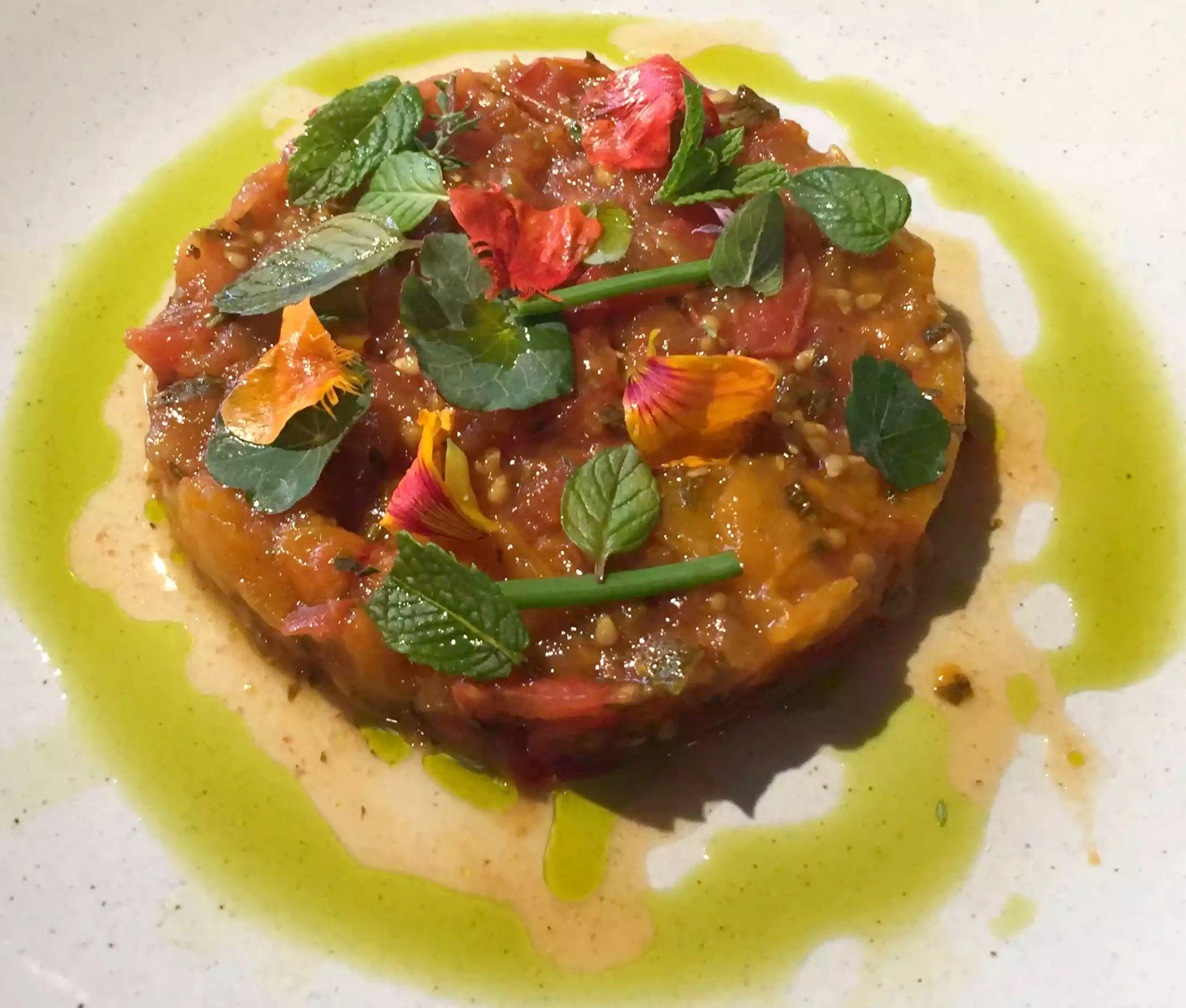 Great Northern Pub St Albans Wine Tasting Dinner Tomato Confit Herbs