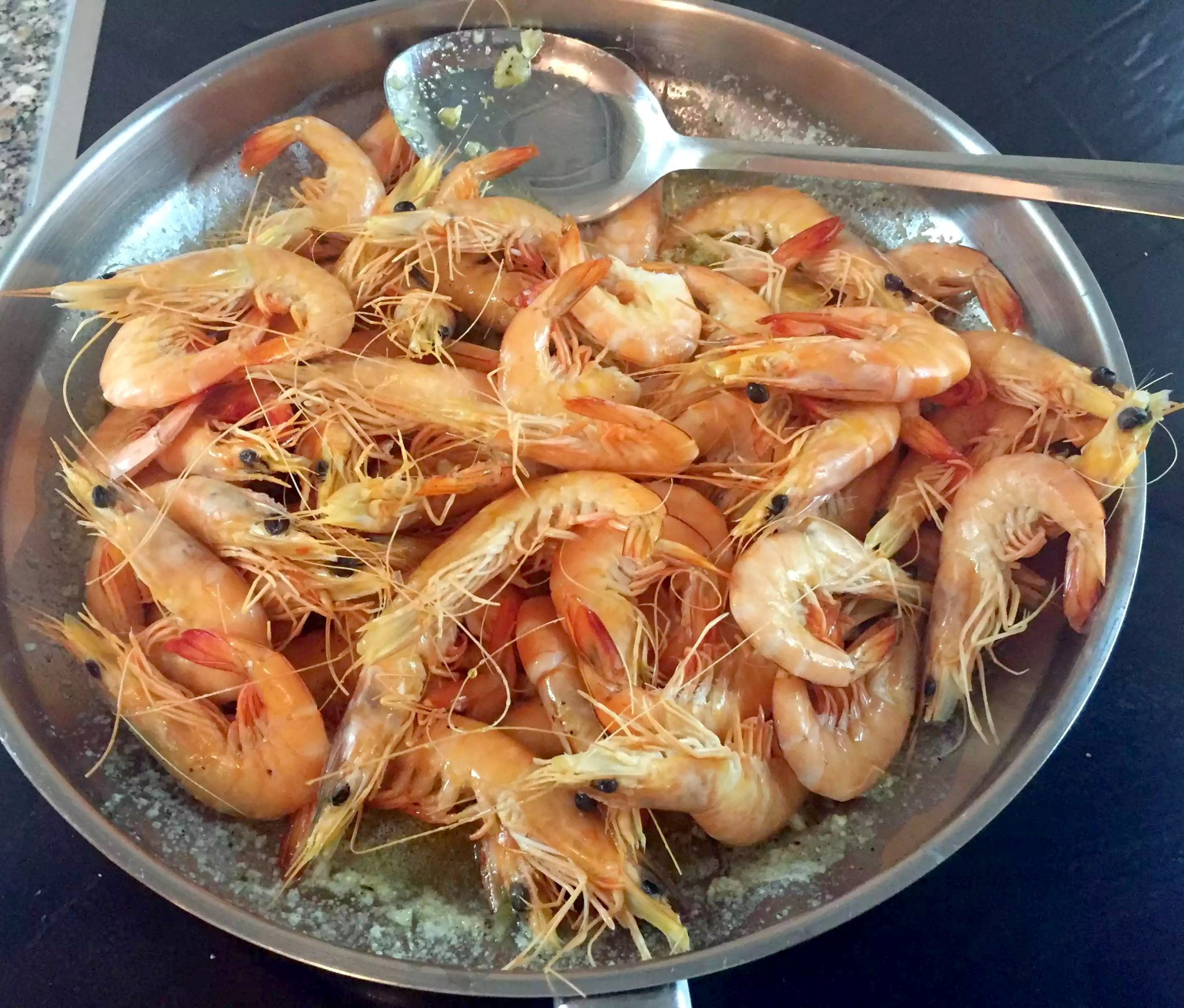 Garlic Shrimp SCD Paleo Clean-Eating, Gluten-Free, Grain-Free, Butter