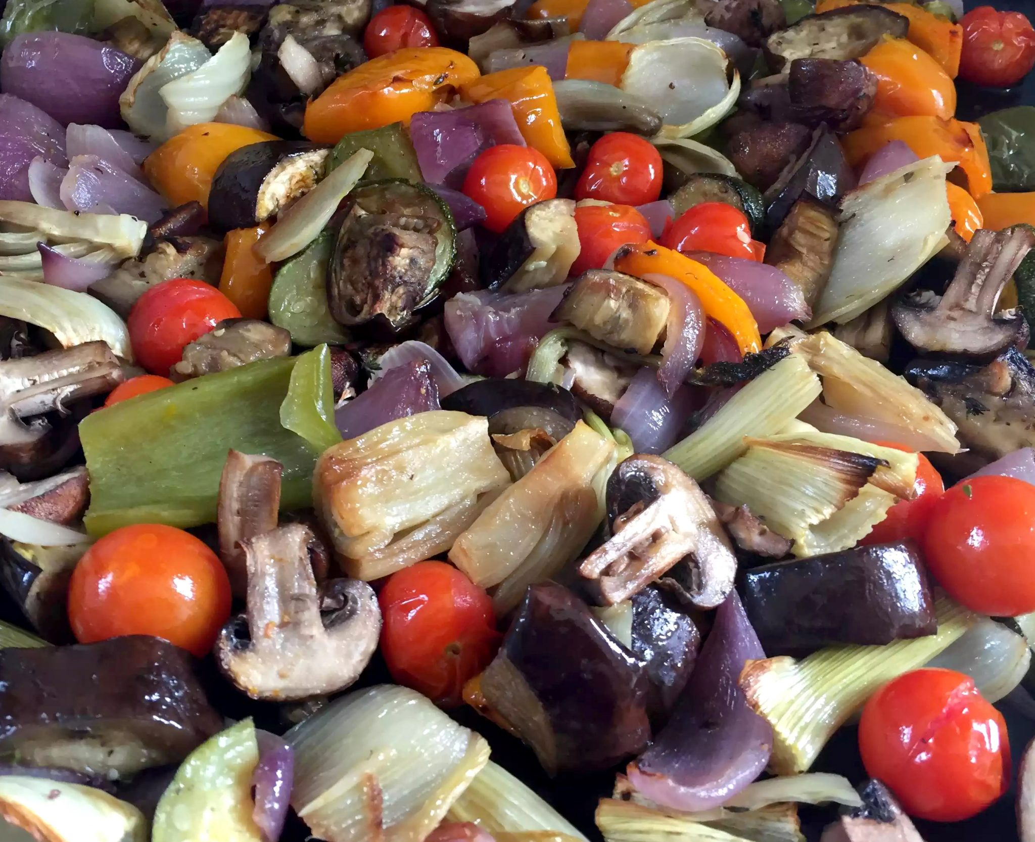 Roasted Vegetables - Paleo, SCD, Vegetarian, Vegan, Clean-Eating, Grain-Free, Gluten-Free, Dairy-Free