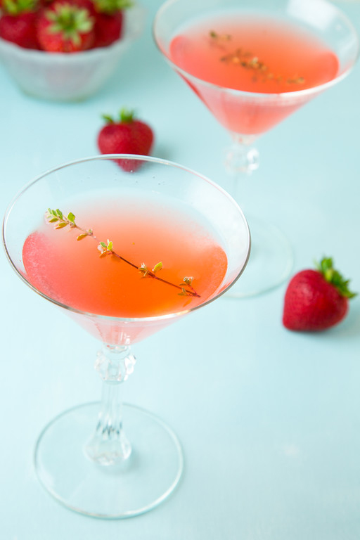 Summer Thyme martini