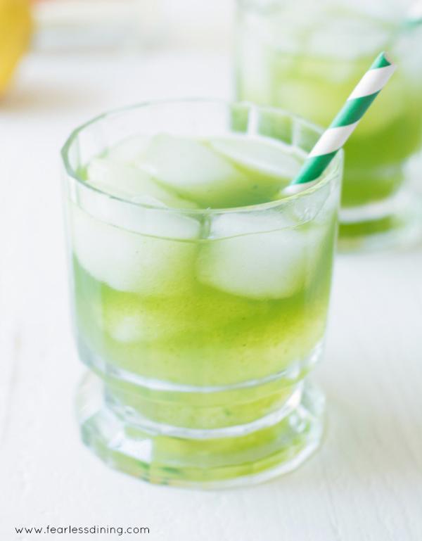 Tequila Lemonade Coriander