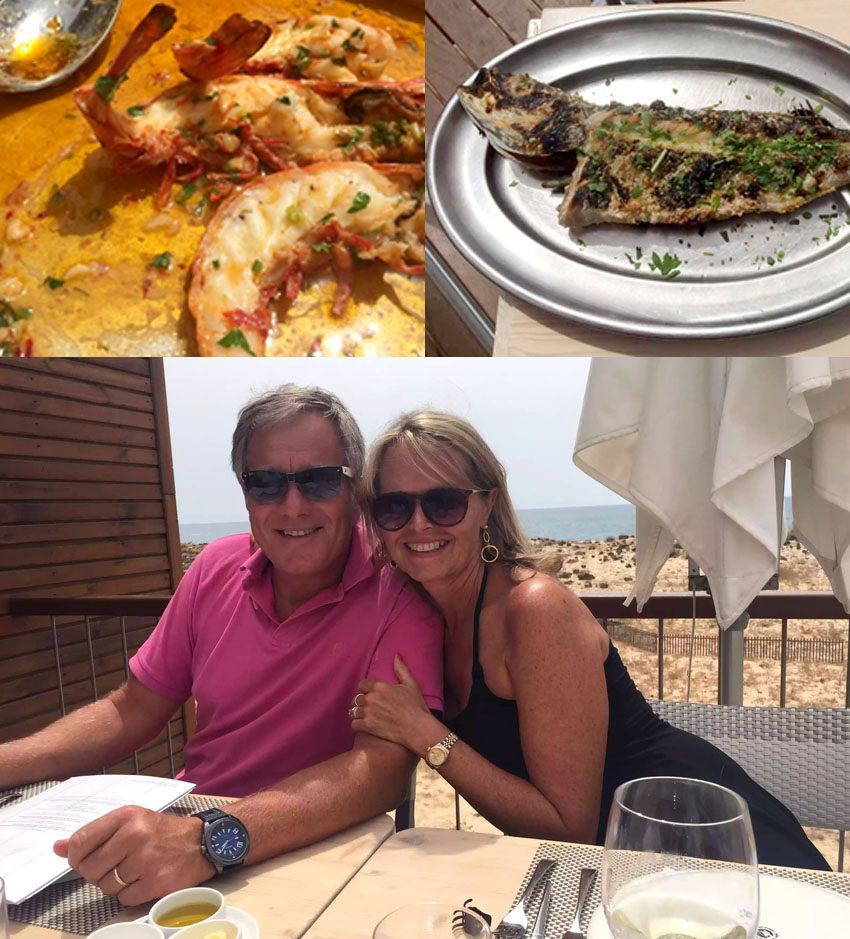 2Passos - Praia d'Ancao -Algarve - Portugal - Lunch Sea Bream