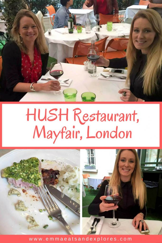 Hush Restaurant, Mayfair London by Emma Eats & Explores