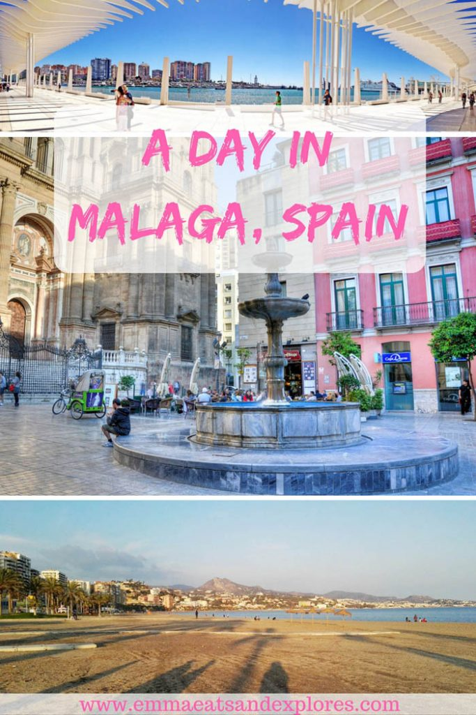 A Day Trip to Malaga, Spain by Emma Eats & Explores