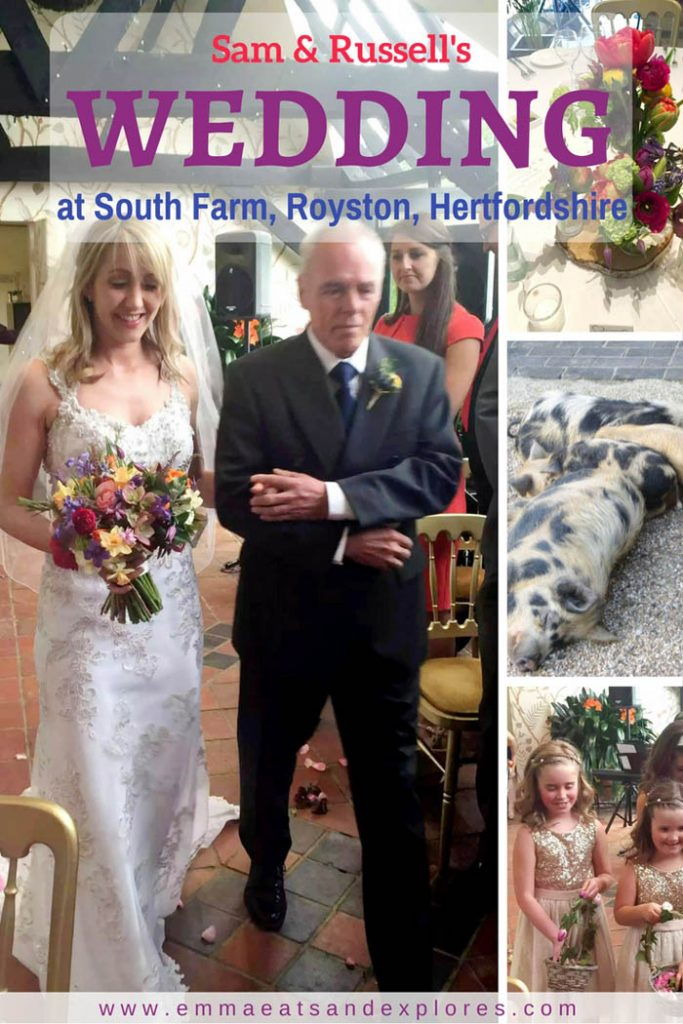 Sam & Russell's Wedding at South Farm - Royston, Hertfordshire by Emma Eats & Explores