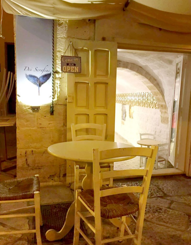 Dinner in Polignano A Mare - Puglia, Italy by Emma Eats & Explores