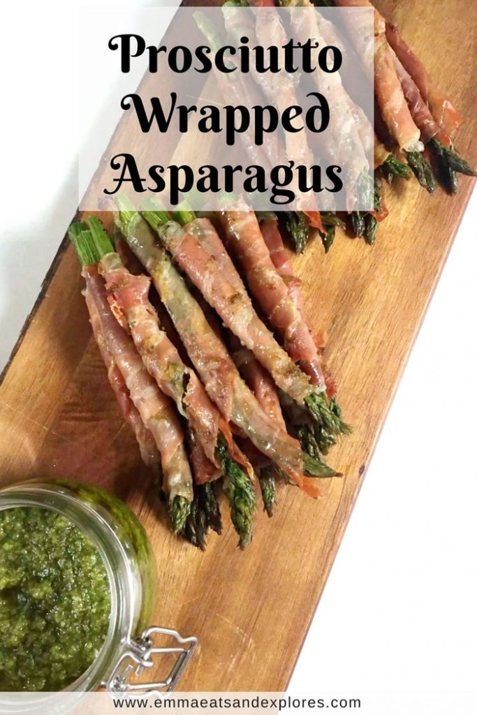 Prosciutto Wrapped Asparagus by Emma Eats & Explores - SCD, Paleo, Whole30, Glutenfree, Grainfree, Dairyfree, Sugarfree & Low Carb
