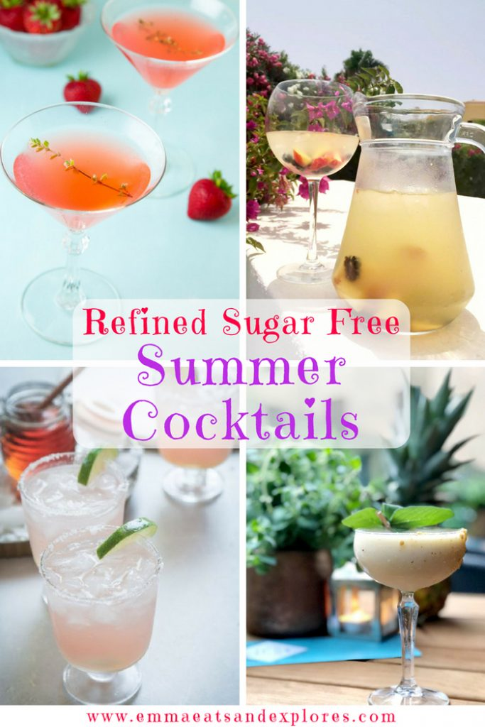 Refined SugarFree Cocktails by Emma Eats & Explores