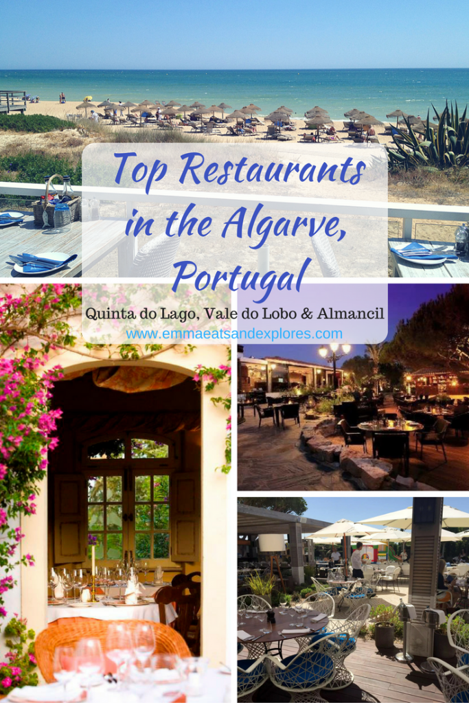 Best Algarve Restaurants, Portugal - Quinta do Lago, Vale do Lobo & Almancil by Emma Eats & Explores