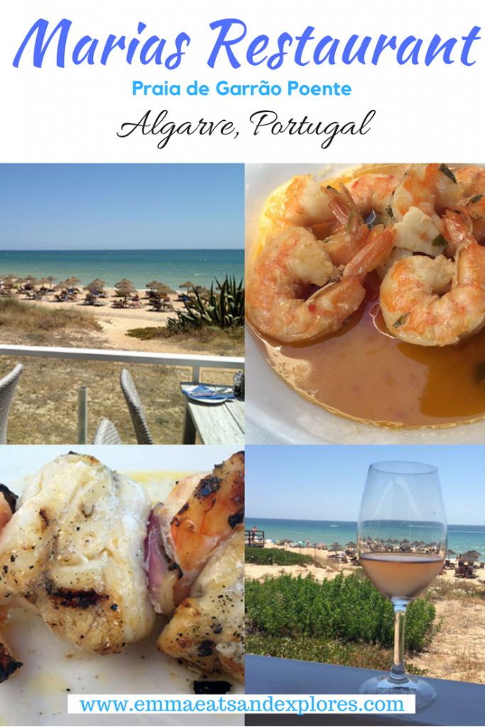 Maria's Restaurant, Praia de Garrão Poente, Algarve, Portugal by Emma Eats & Explores