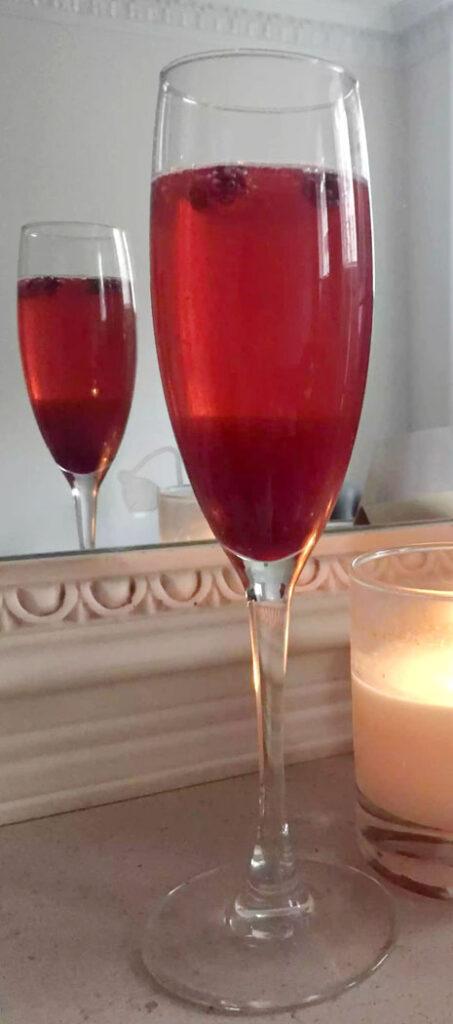 Pomegranate Bellini