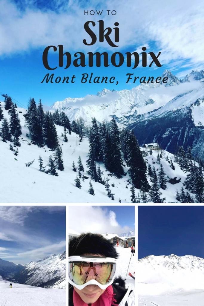 How to ski Chamonix by Emma Eats & Explores