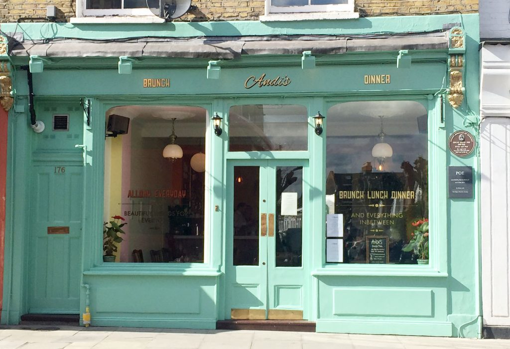 Andi's Restaurant in Stoke Newington, London by Emma Eats & Explores