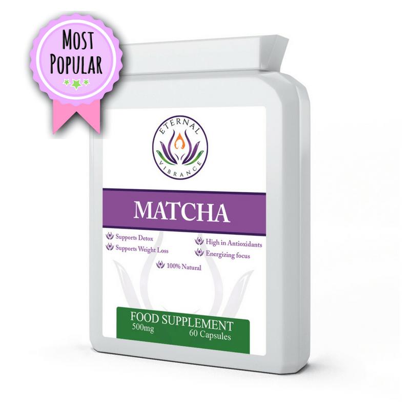 Matcha Green Tea Capsules, Eternal Vibrance by Emma Eats & Explores