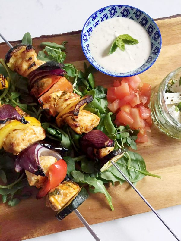 Moroccan Chicken Skewers with Tahini Sauce by Emma Eats & Explores - Grainfree, Glutenfree, Dairyfree, Sugarfree, Paleo, SCD, Low Carb