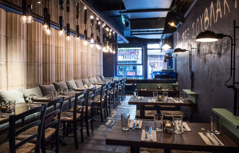 Suvlaki Restaurant Soho London by Emma Eats & Explores - Greek Restaurant