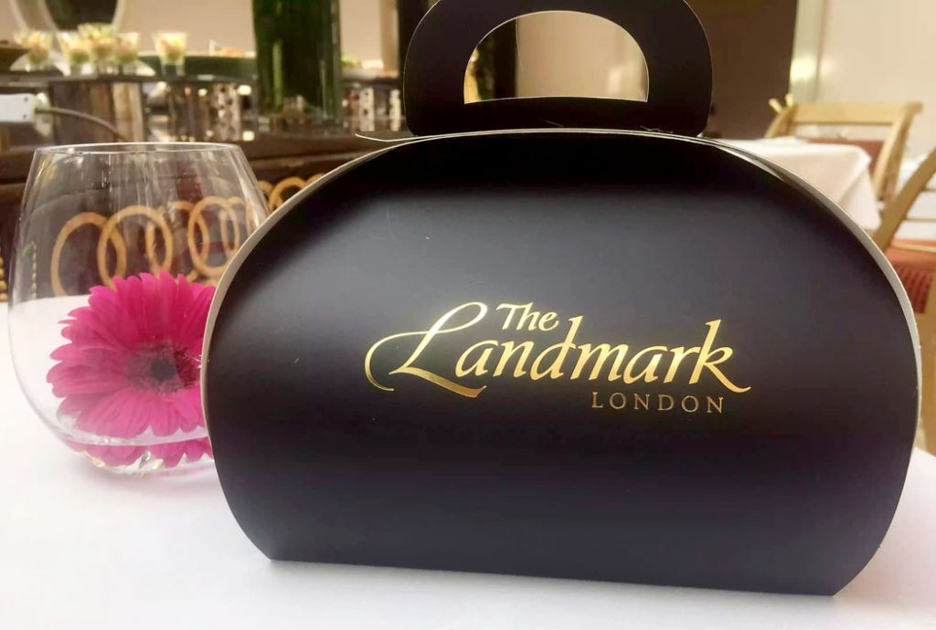 Champagne Brunch at the Landmark Hotel, London by Emma Eats & Explores