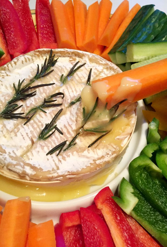 Baked Camembert with Garlic & Rosemary by Emma Eats & Explores - Grainfree, Glutenfree, Refined Sugarfree, Paleo, SCD, Vegetarian, Low Carb