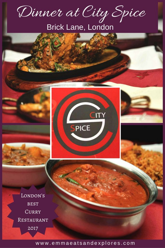 Best Curry Brick Lane >> London S Best Curry House City Spice Brick Lane Emma
