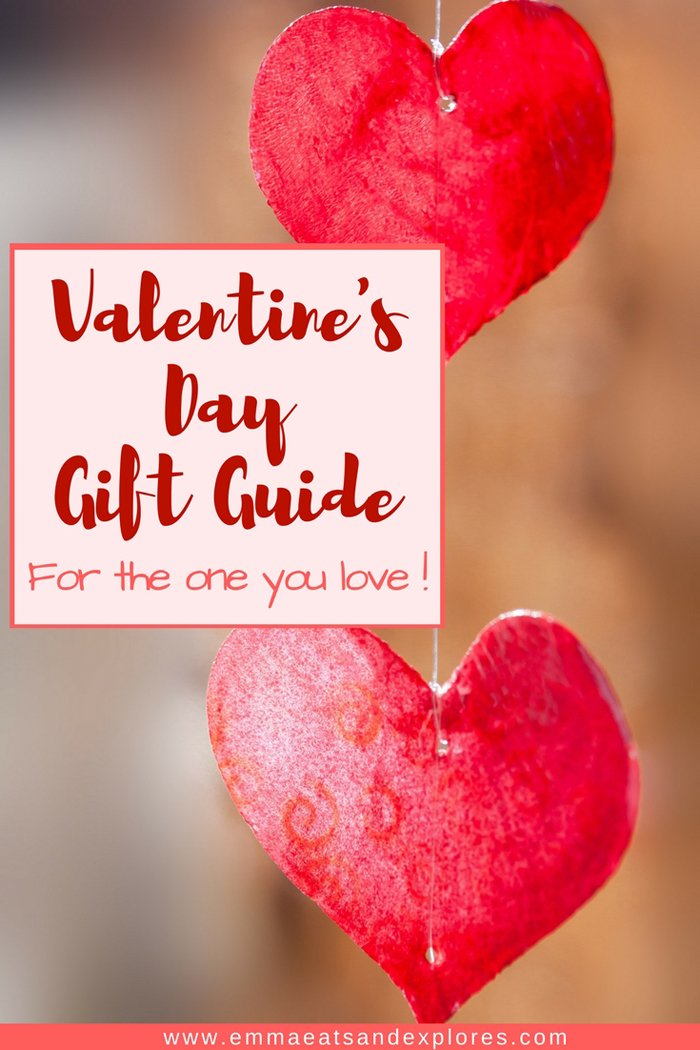 Valentine's Day Gift Guide by Emma Eats & Explores