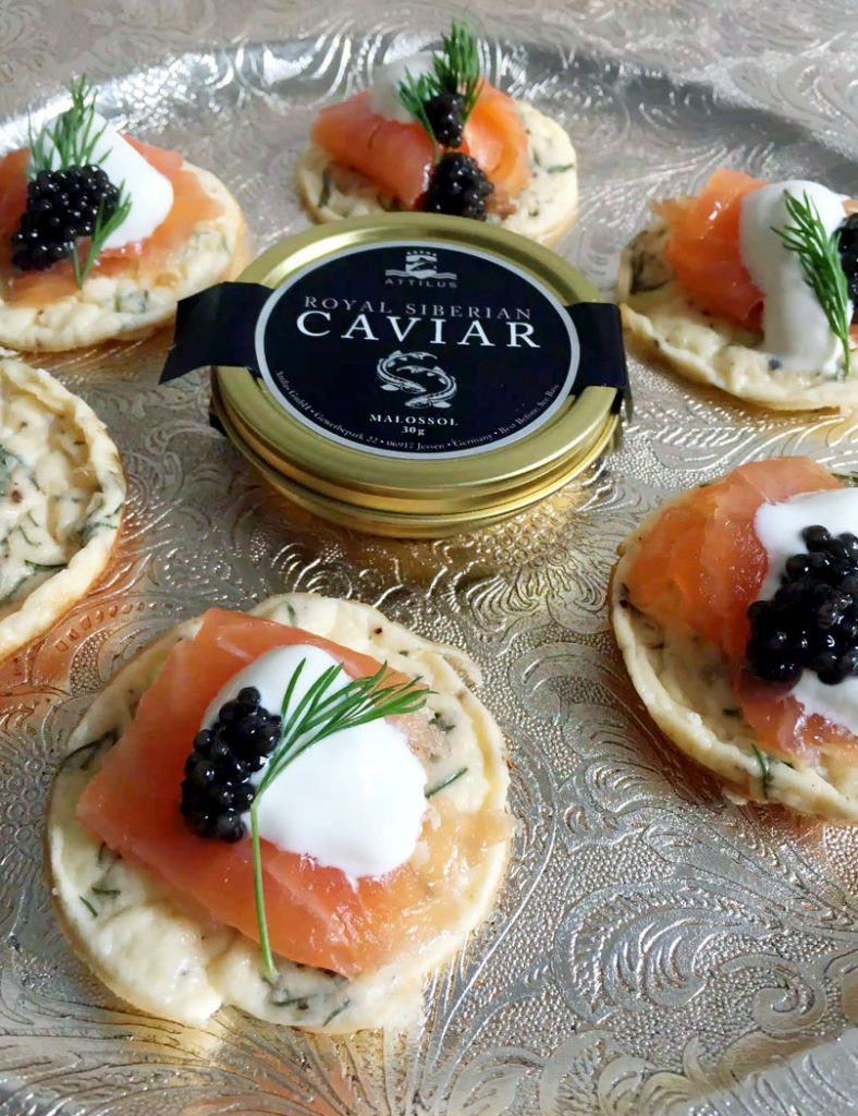 How to Taste Caviar with Attilus Caviar by Emma Eats & Explores