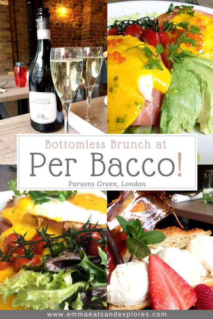 Per Bacco Italian Restaurant - Parsons Green, London by Emma Eats & Explores