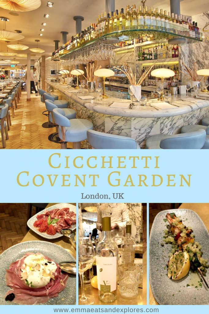Cicchetti Covent Garden by Emma Eats & Explores