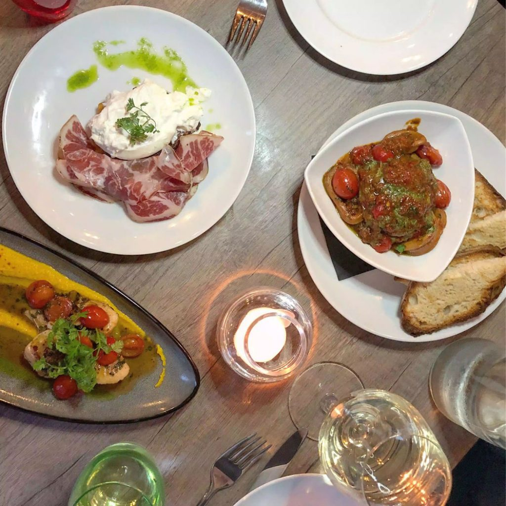 Dinner at PerBacco Italian Restaurant - Parsons Green, London by Emma Eats & Explores