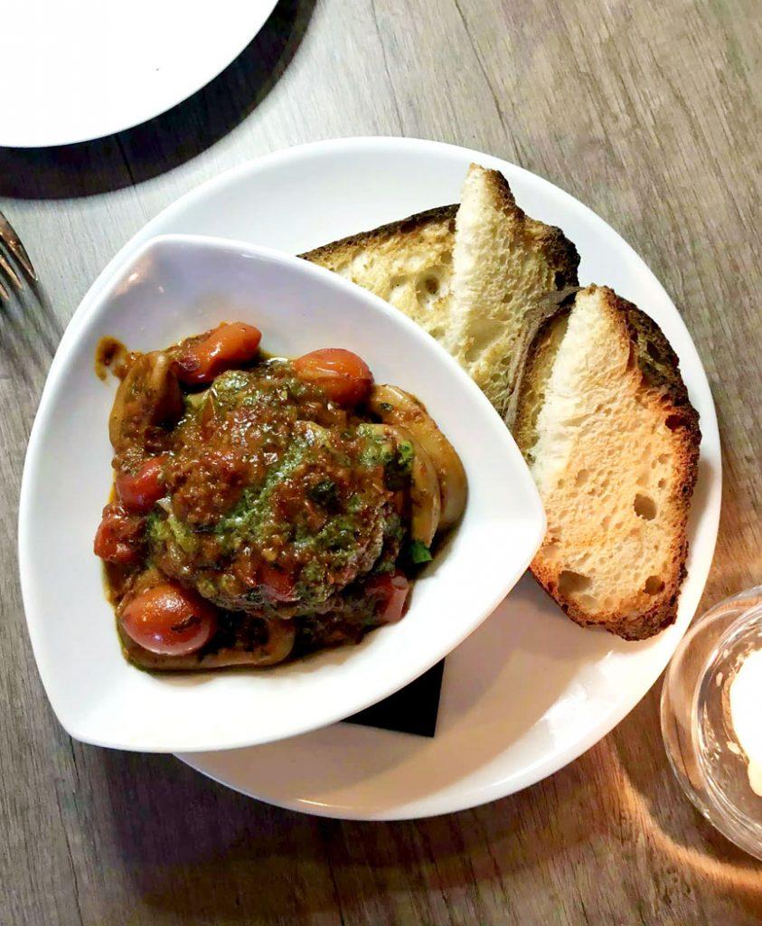 Dinner at PerBacco Italian Restaurant - Parsons Green, London by Emma Eats & Explores